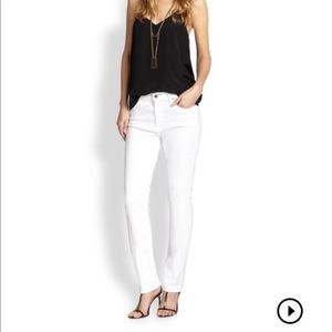 Jen 7 by 7 For All Mankind White Skinny Jeans